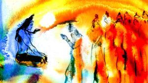 Adiyogi-Chronicles-Adiyogi-with-Saptarishis-_-Sadhguru-2