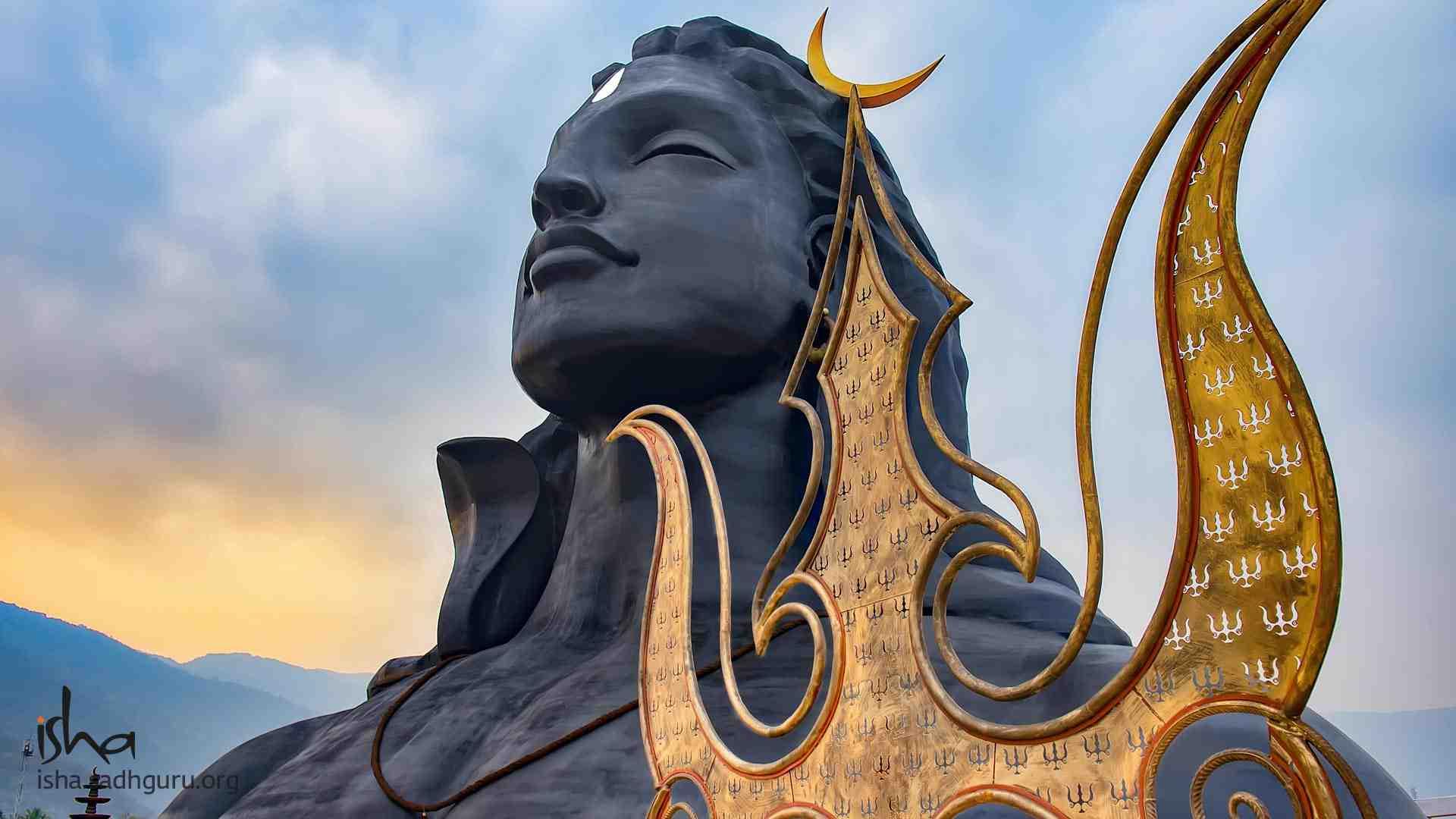 Shiva Wallpaper with his Trishul