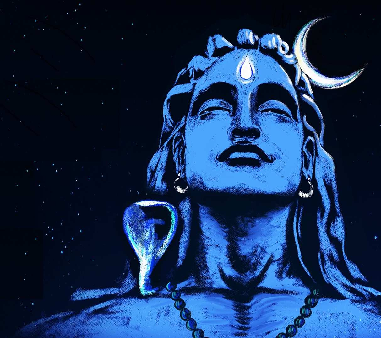 Shiva - The Adiyogi illustration