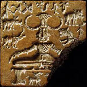 பசுபதிநாதர் உருவம் பொறிக்கப்பட்ட முத்திரை