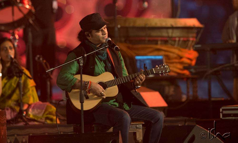 Mohit Chauhan in concert