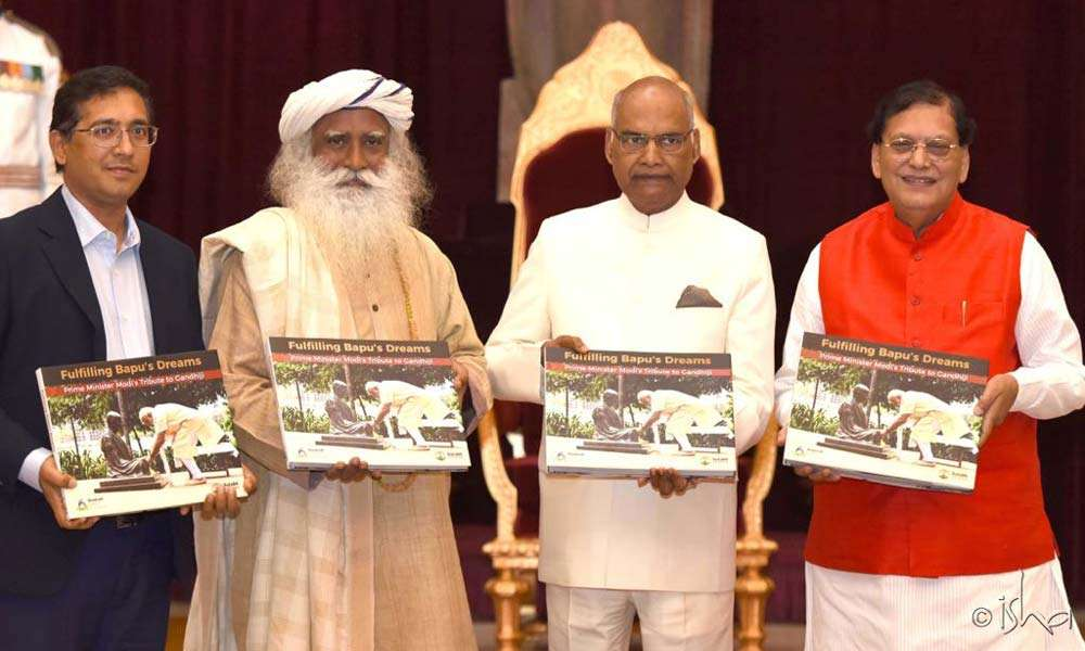 The book was released at the Rashtrapati Bhavan on March 9, 2018