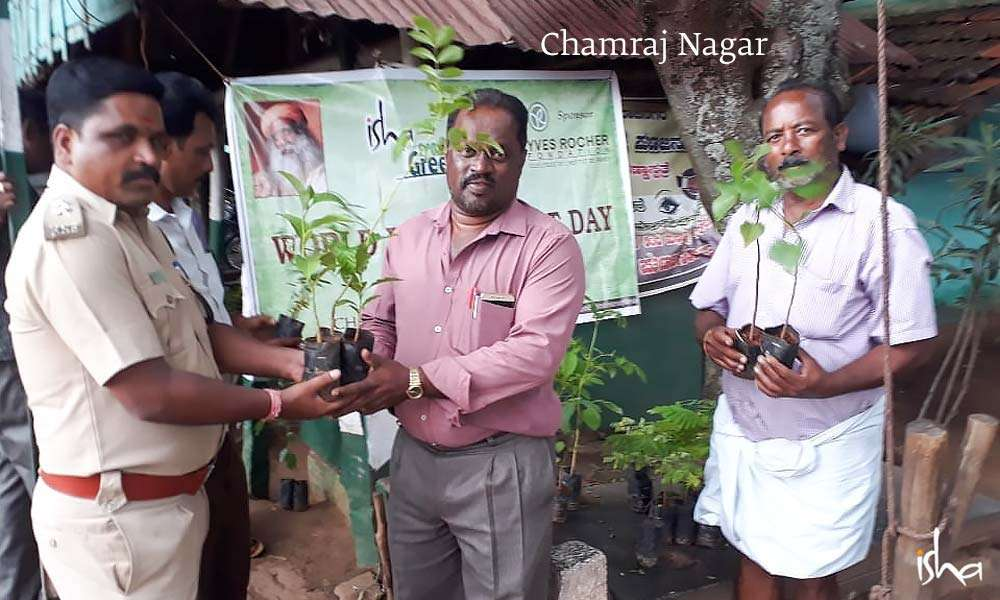 World Environment Day Celebrations at Isha Project GreenHands