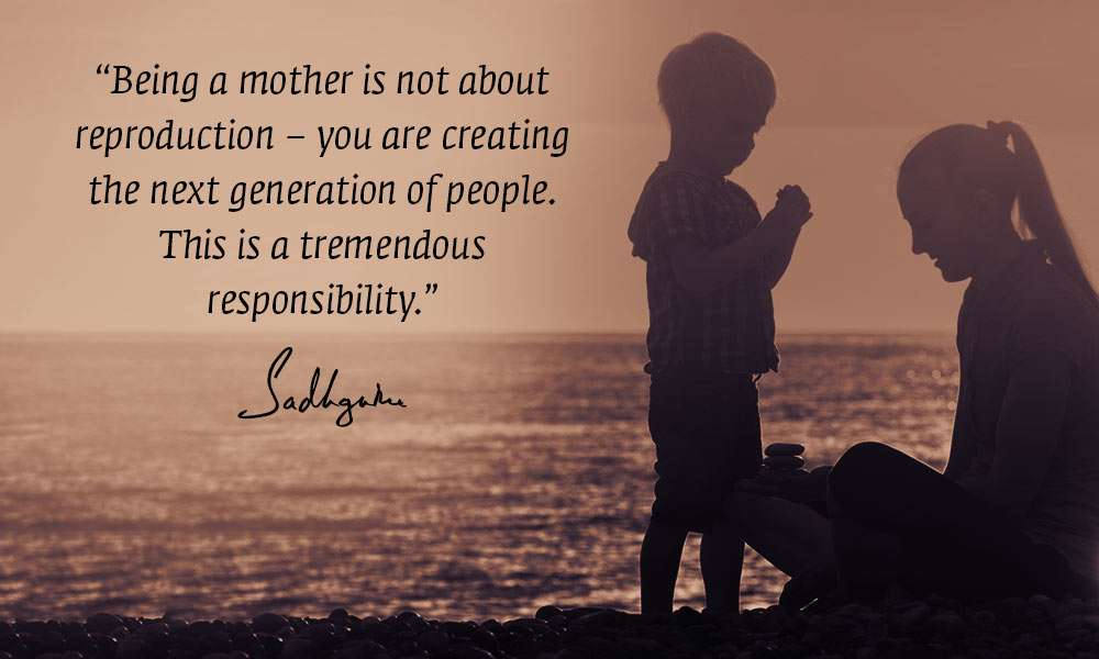 Pleasing 9 Quotes From Sadhguru On Mothers Day Funny Birthday Cards Online Alyptdamsfinfo