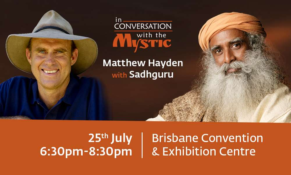 Matthew Hayden in Conversation with Sadhguru