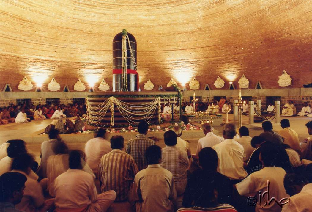 3th Anniversary of Dhyanalinga Consecration, 2002