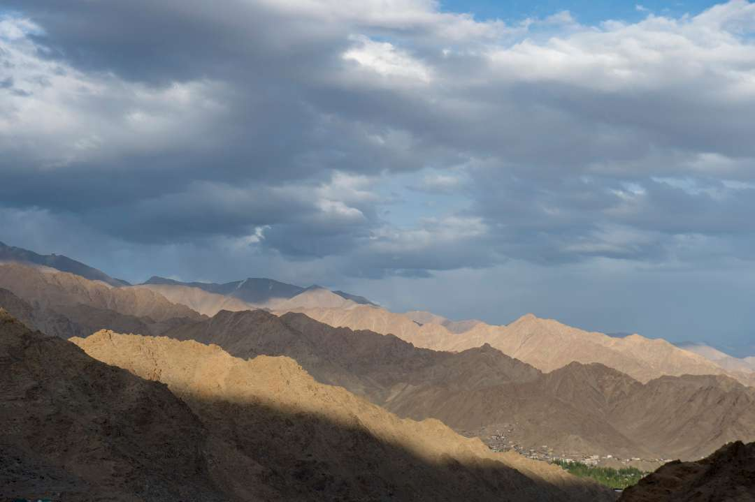 "The ""moonscape"" of Leh, Ladakh"
