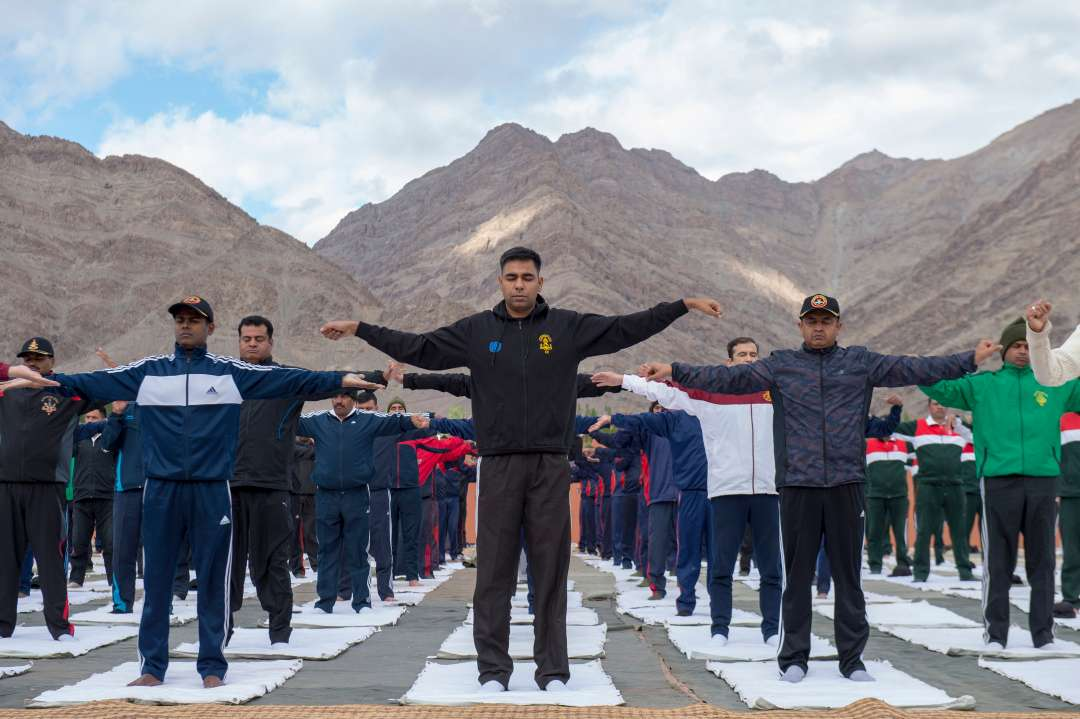 Equipping Army Men with Yoga for Health