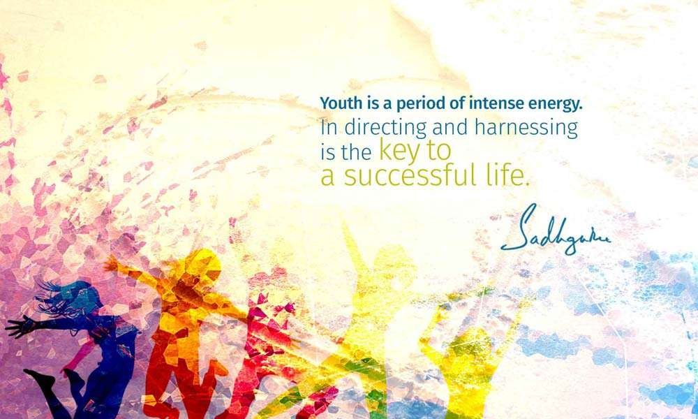 Youth Quote from Sadhguru on National Youth Day