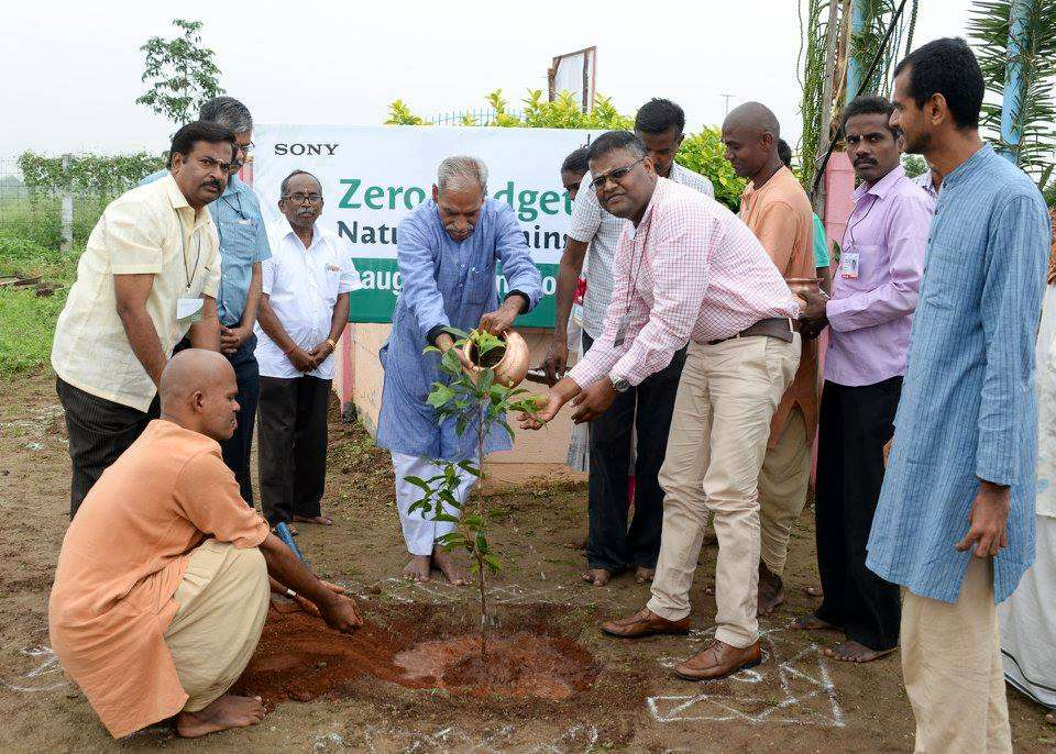 First Subhash Palekar Natural Farming training program, Dec 5, 2015, organised by Project GreenHands