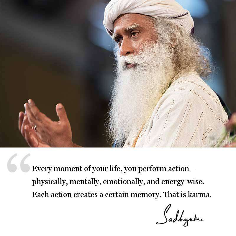 Karma Quotes by Sadhguru