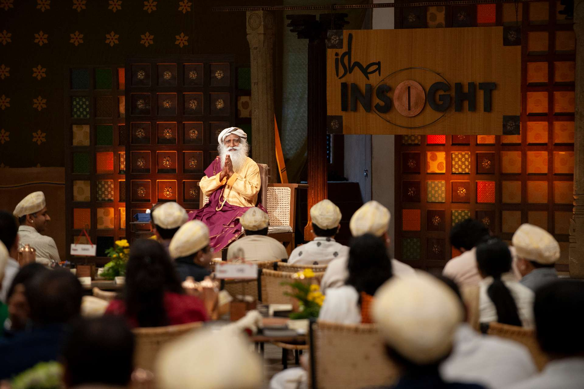 Welcome session with Sadhguru