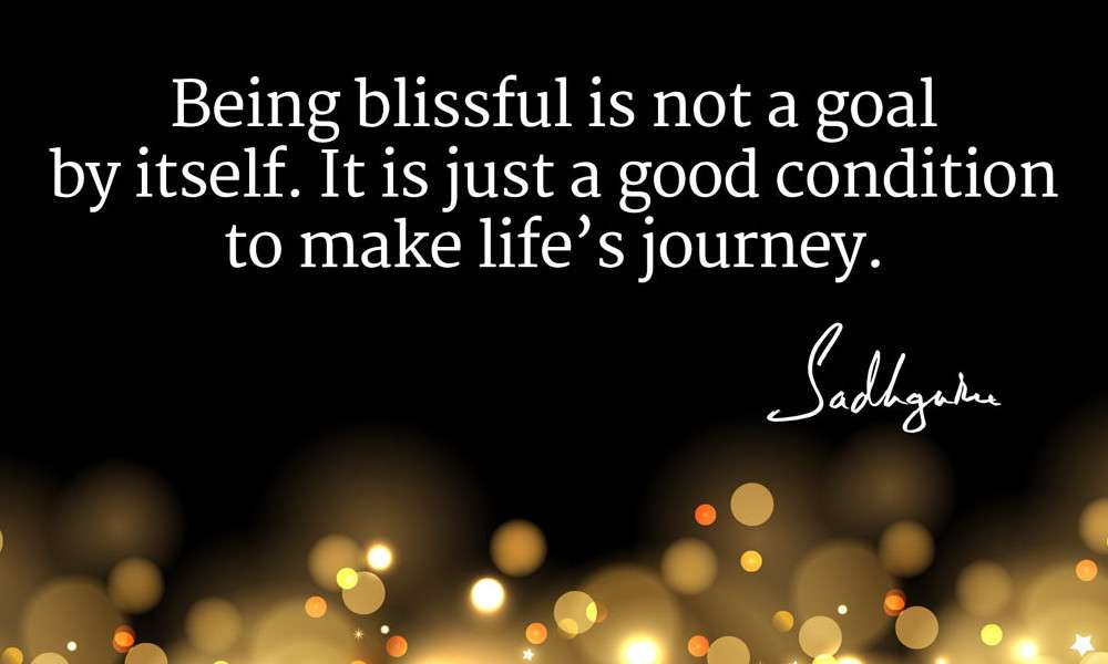 sadhguru quotes on bliss
