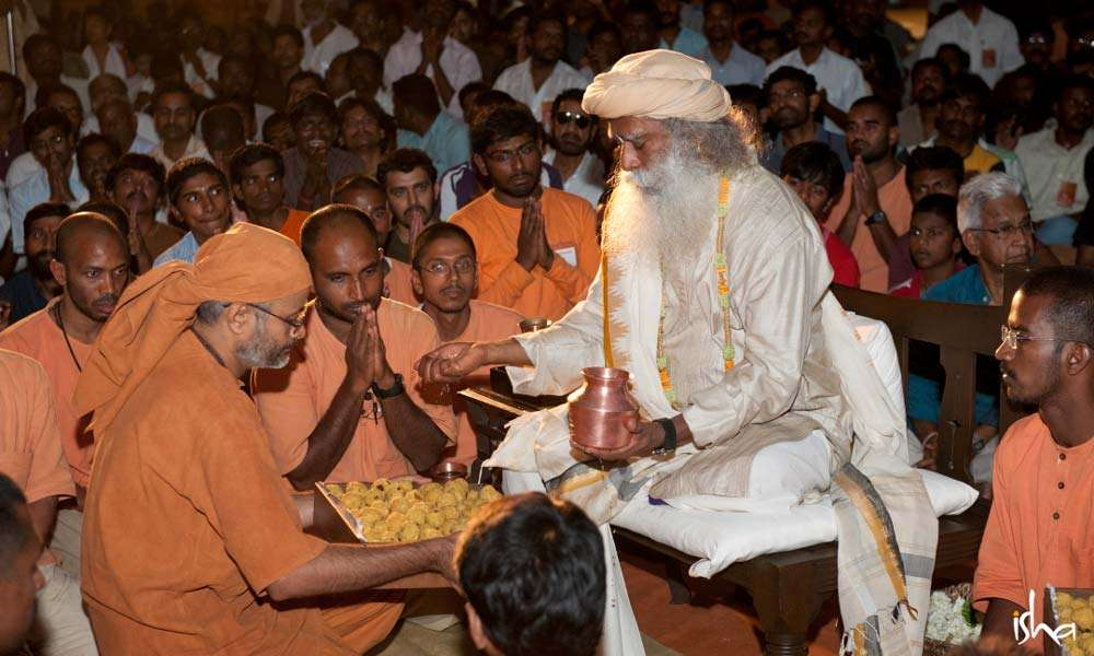 Guru Purnima Images | Prasadam for the Devotees