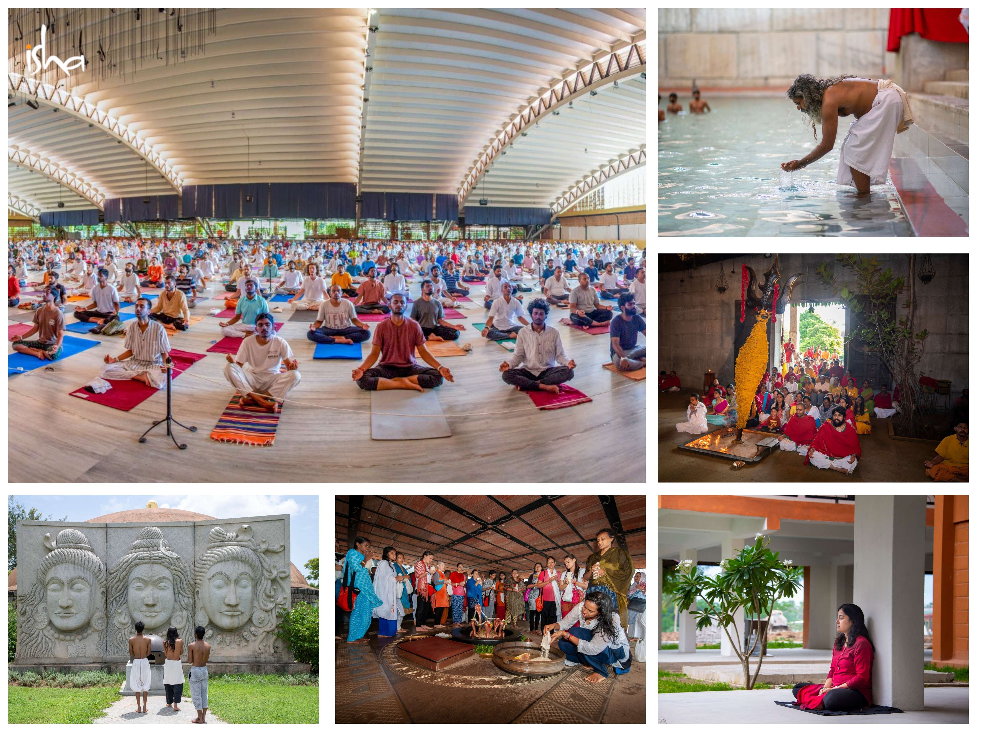 isha-blog-article-life-in-sadhanpada-consecrated-space-the-ultimate-frontier-consecrated-spaces-collage2