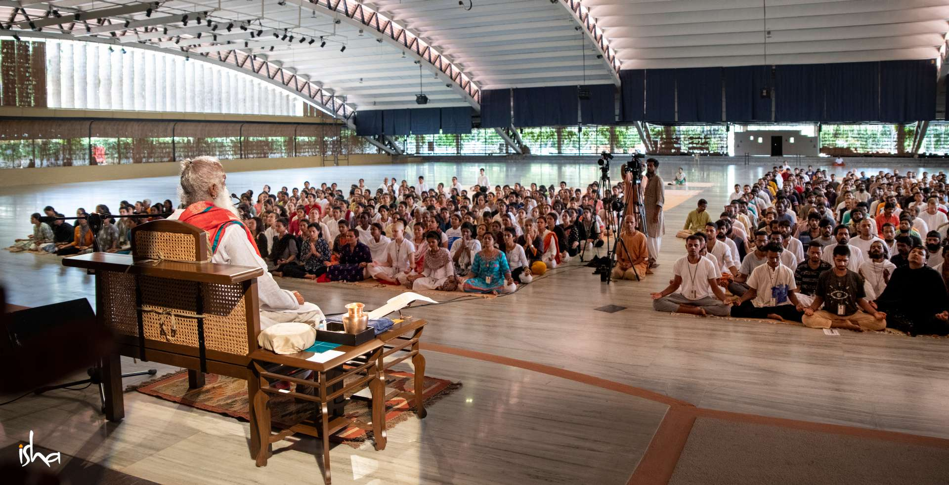 isha-blog-article-life-in-sadhanpada-consecrated-space-the-ultimate-frontier-soaked-in-grace