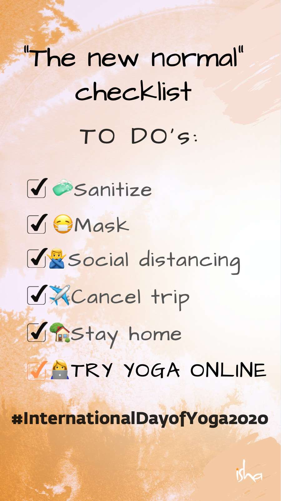 isha-blog-article-yoga-the-new-normal-checklist