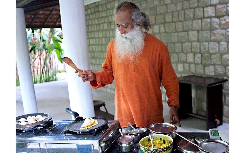Sadhguru Chef- Food and mental Health
