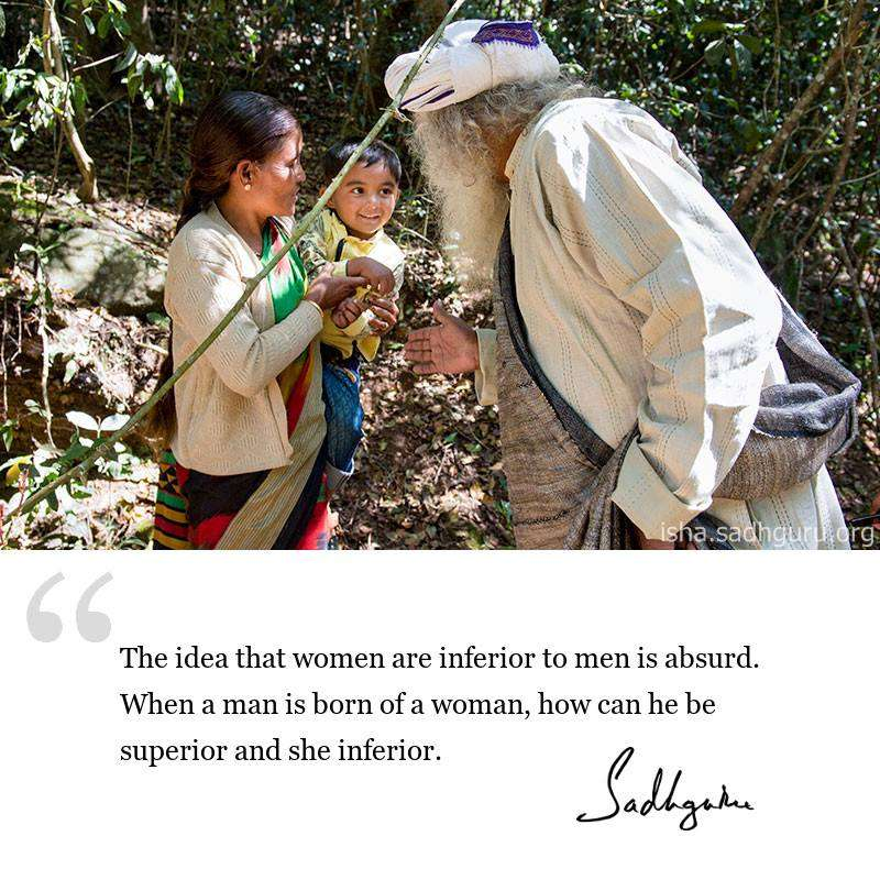sadhguru-dmq-2019-The-idea-that-women
