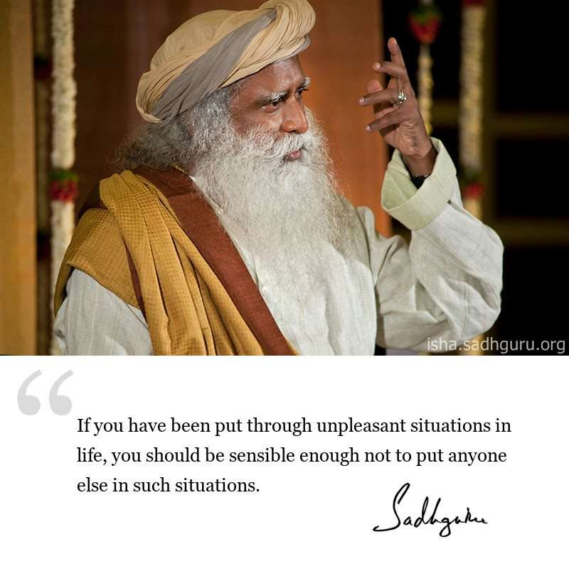 sadhguru-dmq-2019-if-you-have-been-put-through