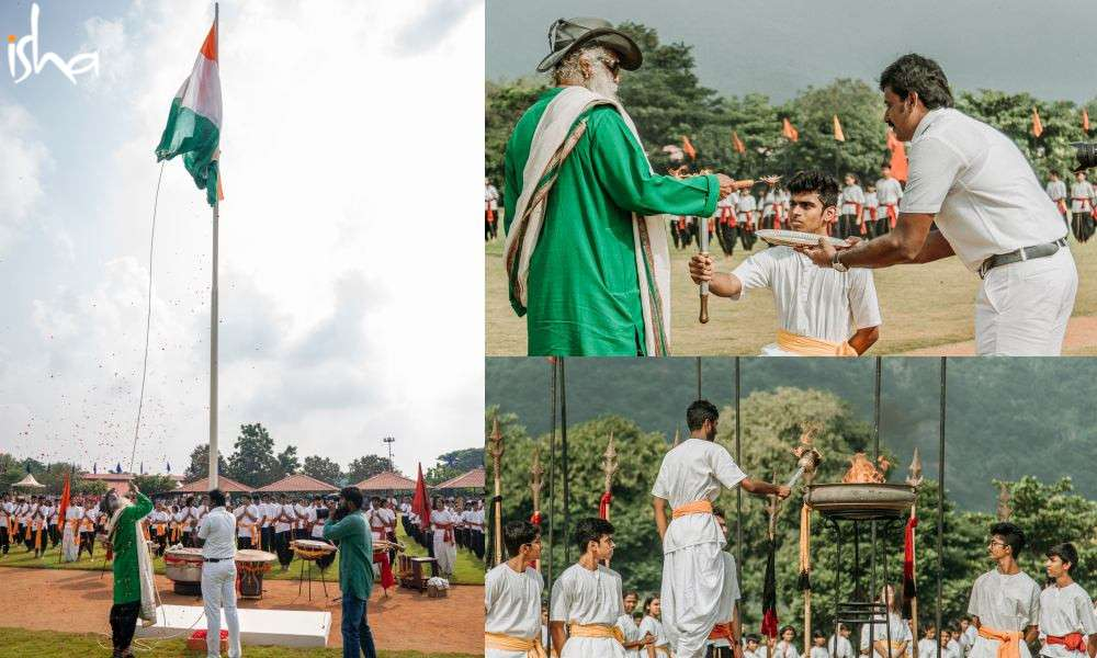 sadhguru-isha-blog-isha-home-school-sports-day-flag-torch-ceremony