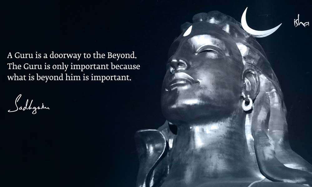The 112 ft statue of Adiyogi at the Isha Yoga Center | Guru Purnima Quotes from Sadhguru