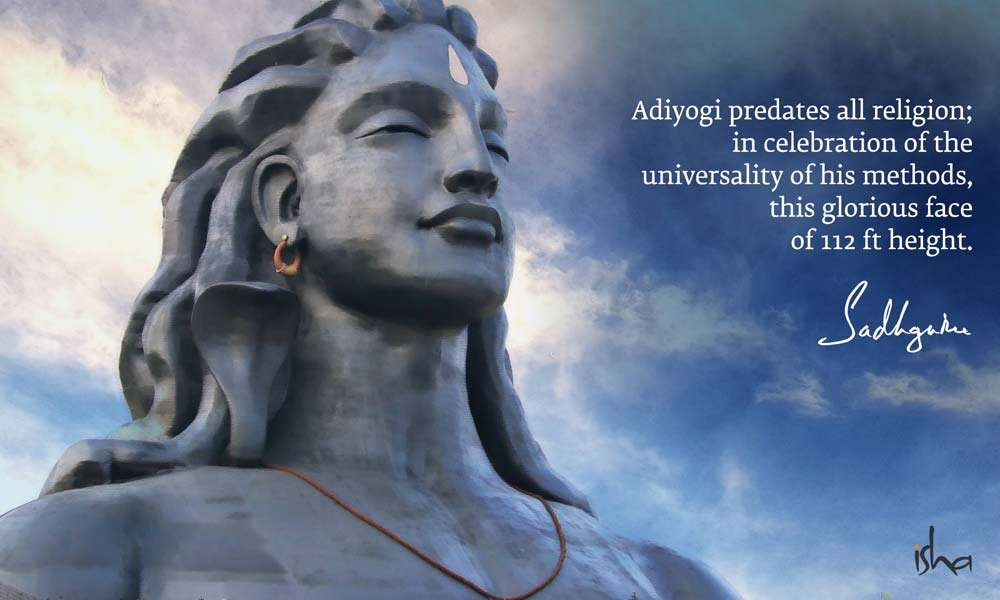 The 112 ft statue of Adiyogi at the Isha Yoga Center | Why Do We Celebrate Guru Purnima? Sadhguru Answers | Guru Purnima Is Celebrated Irrespective of Caste or Creed
