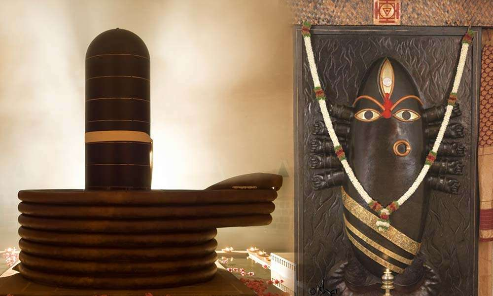 Collage of Dhyanalinga (Left) and Linga Bhairavi (Right) | Can Your Photo Be Used to Affect You Negatively?