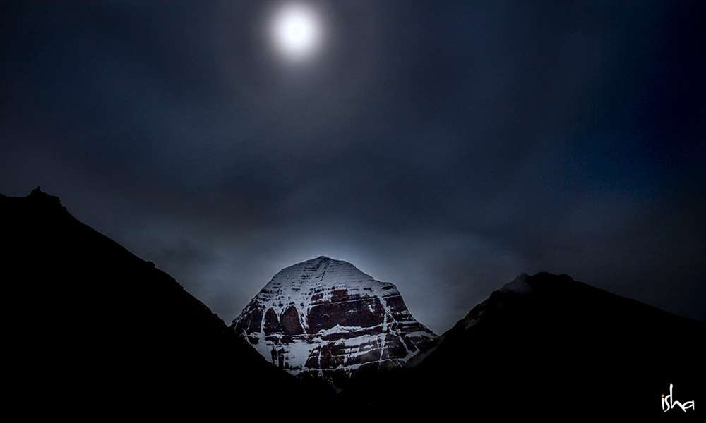 The Mystical Kailash bathed in the Magical Moonlight | What a Pilgrimage to Kailash Really Means