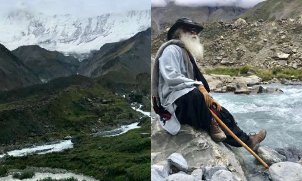 Sadhguru at Hamde, Nepal | Mountain Lust