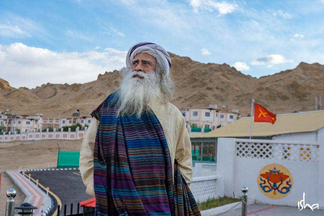 Sadhguru at Leh