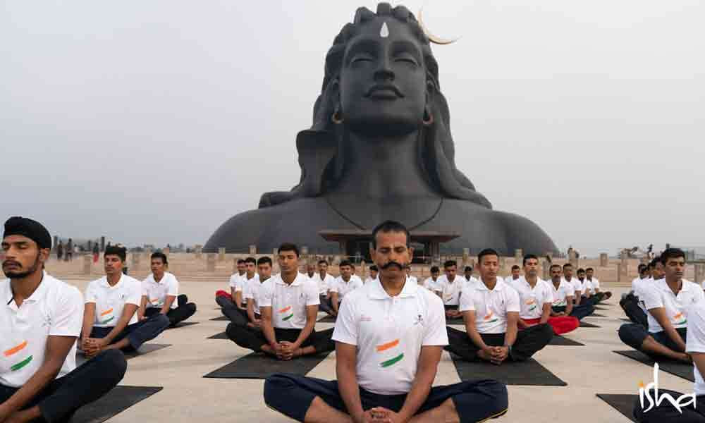 Hatha Yoga Training Program for the Indian Army | Full On, Everyone!