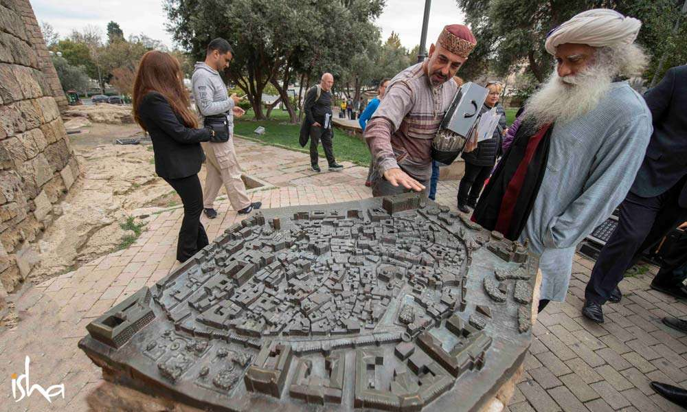 A stone replica of the layout of the city of Baku | One Mega Life