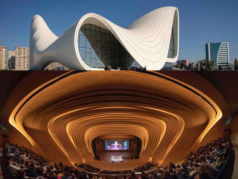 Heydar Aliyev Center, Baku | One Mega Life