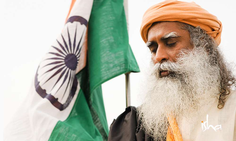 Sadhguru Wisdom Article | 18 Quotes by Sadhguru on Building Nation