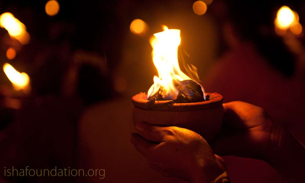 Dussehra and Navratri Celebrations at the Isha Yoga Center