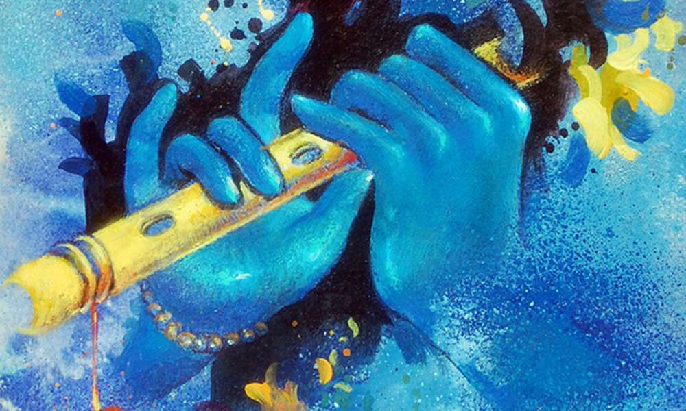 Why Is Krishna Blue?