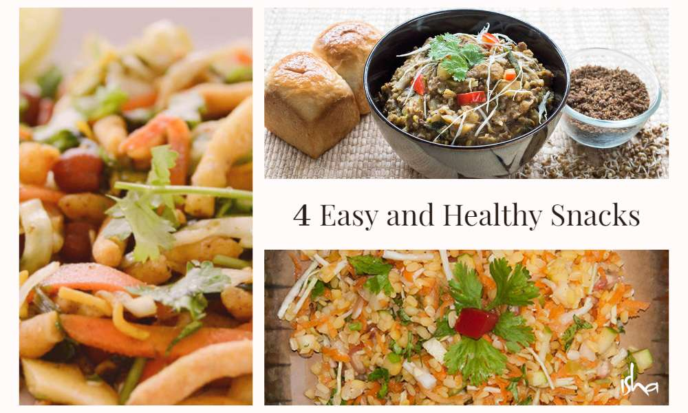 Isha Blog Article | 4 Easy and Healthy Snacks Recipes to Munch on During Quarantine