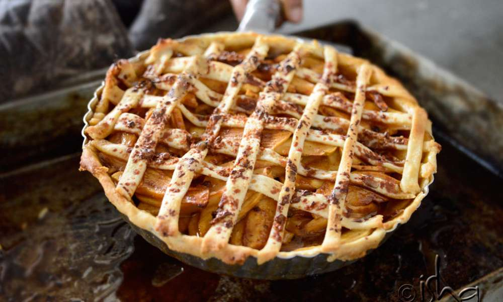 A Simple Homemade Apple Pie Recipe