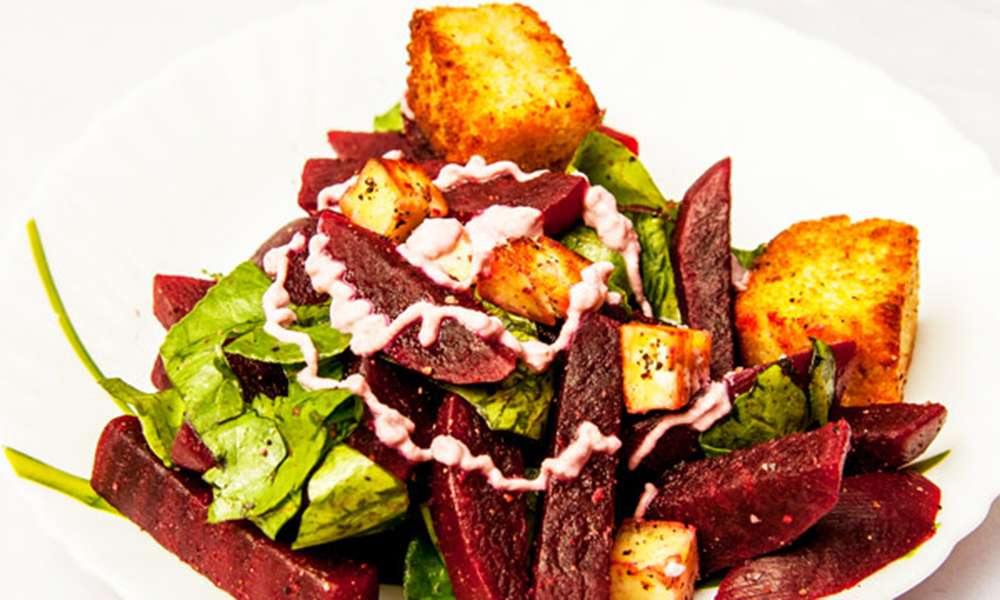 spinach-beetroot-salad