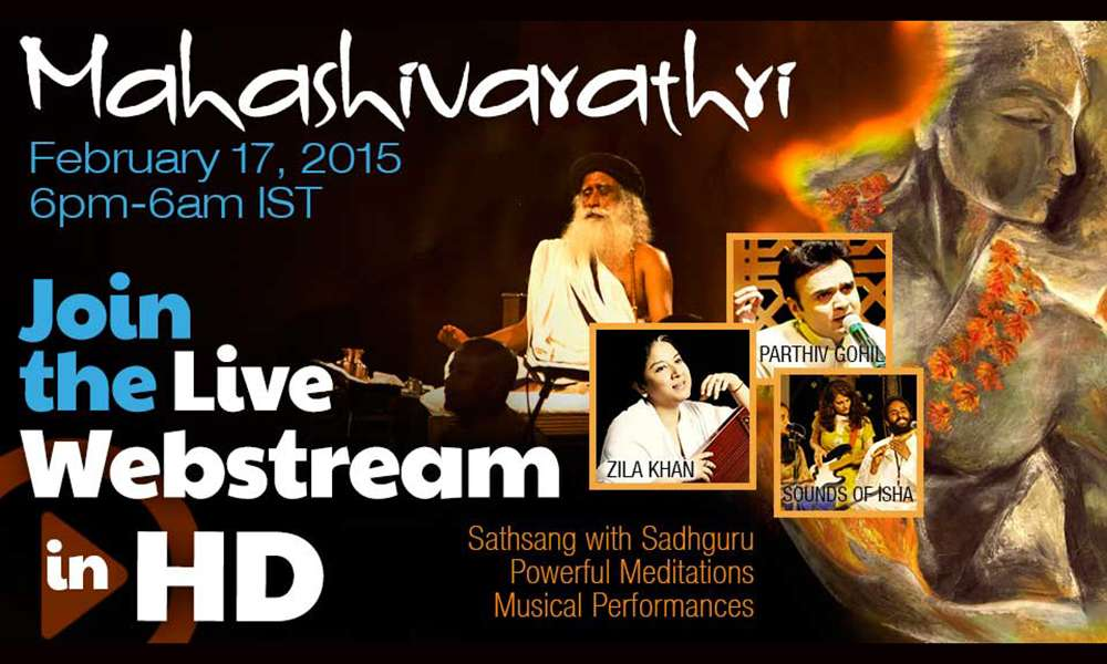 Mahashivratri – Join the Live Webstream
