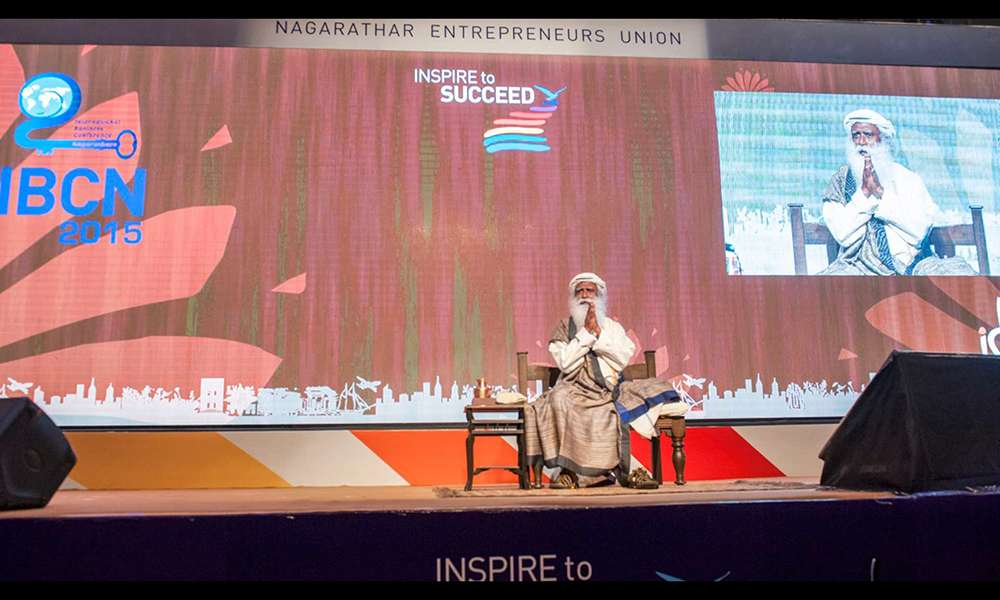 Sadhguru Speaks to the Nagarthar Community at IBCN 2015