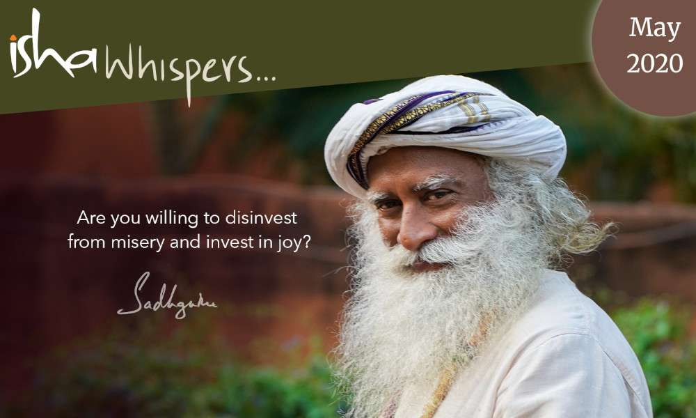 Isha Blog Article | Isha Whispers… May 2020