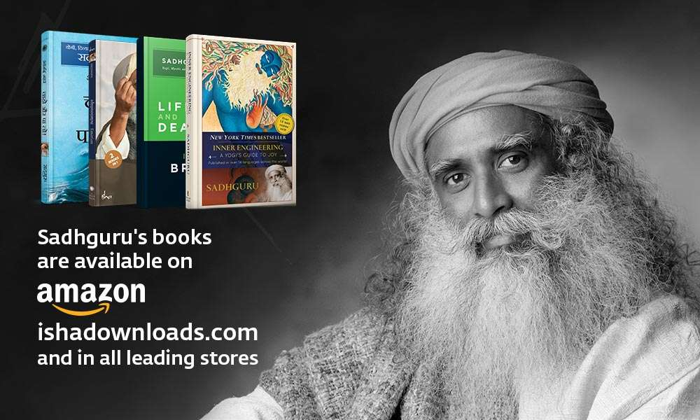 Isha Blog Article | Sadhguru: Bestselling Indian Author in the Trade Non-Fiction Category