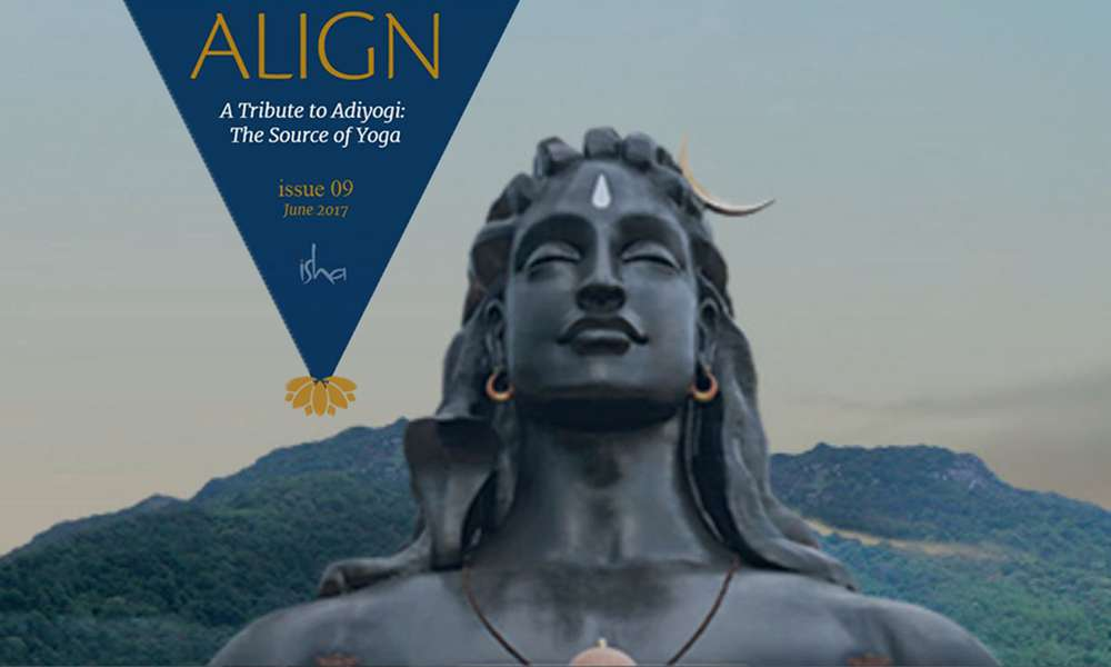 isha blog article | align jun 2017 – a tribute to adiyogi : the source of yoga