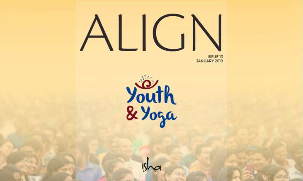 isha blog article | align jan 2019 – youth and yoga