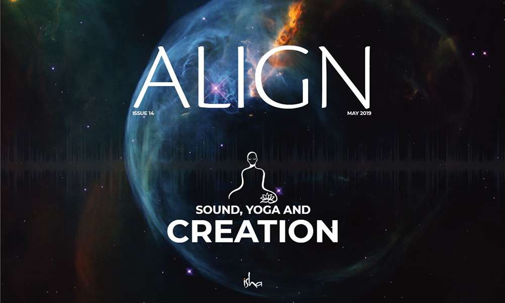 isha blog article | align may 2019 sounds of creation ep 14