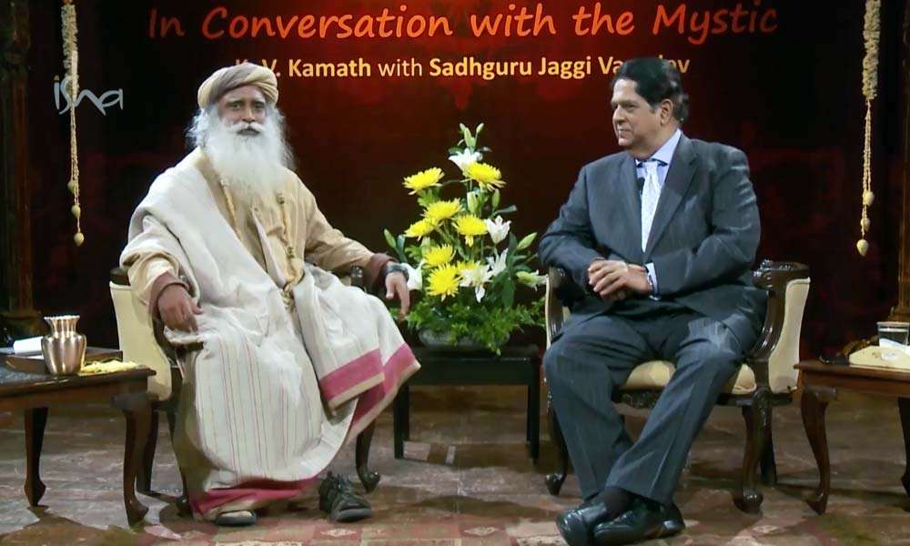K V Kamat In Conversation With Sadhguru