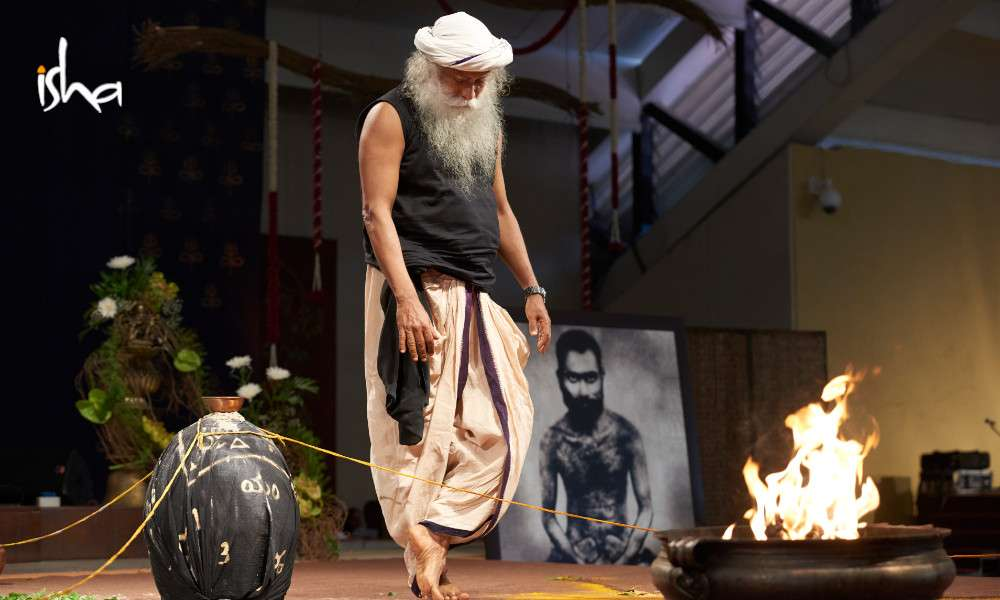 sadhguru wisdom article | consecration consecrating life process