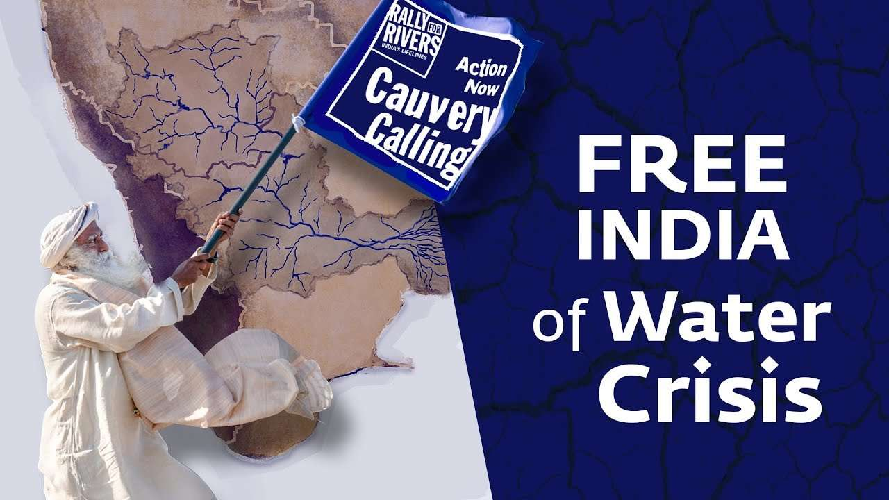 sadhguru wisdom audio | FREE INDIA of Water Crisis